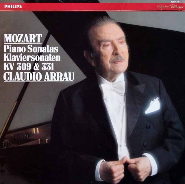 アラウのモーツァルト/ピアノソナタ第7、11番 蘭PHILIPS 3310 LP レコード