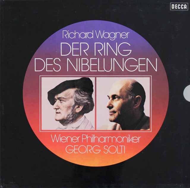 ショルティのワーグナー/「ニーベルングの指環」全曲 独DECCA 3310 LP レコード