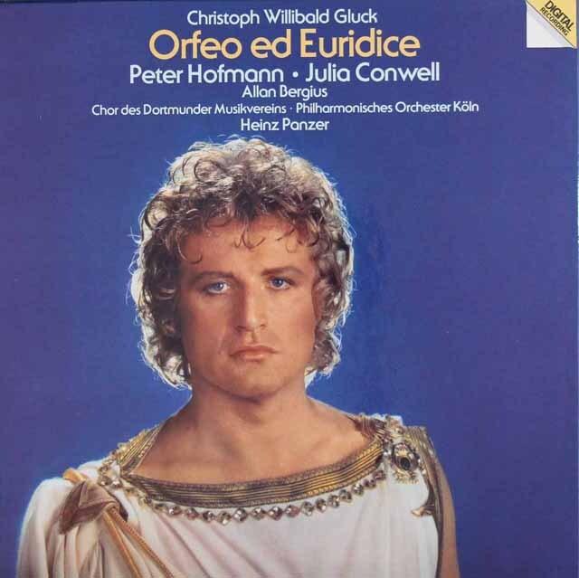 ペーター・ホフマンらのグルック/「オルフェオとエウリディーチェ」 独vipro 3310 LP レコード