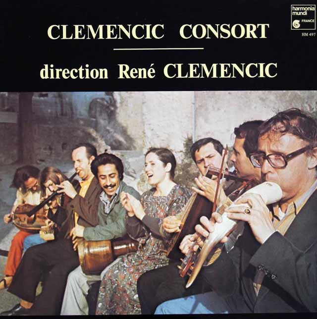 クレメンチッチ・コンソートのハンガリーとトランシルバニアの古い舞曲集ほか  仏HM 3311 LP レコード