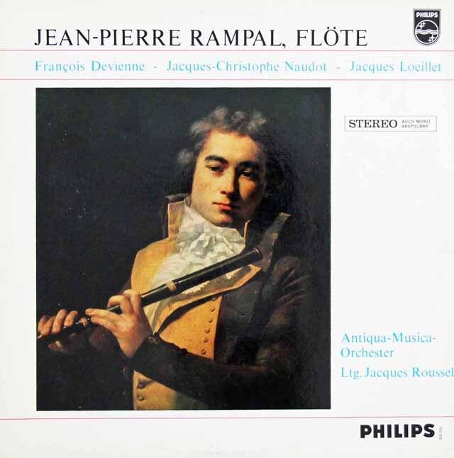 ランパルのドヴィエンヌ/フルート協奏曲 第2番ほか 蘭PHILIPS 3311 LP レコード
