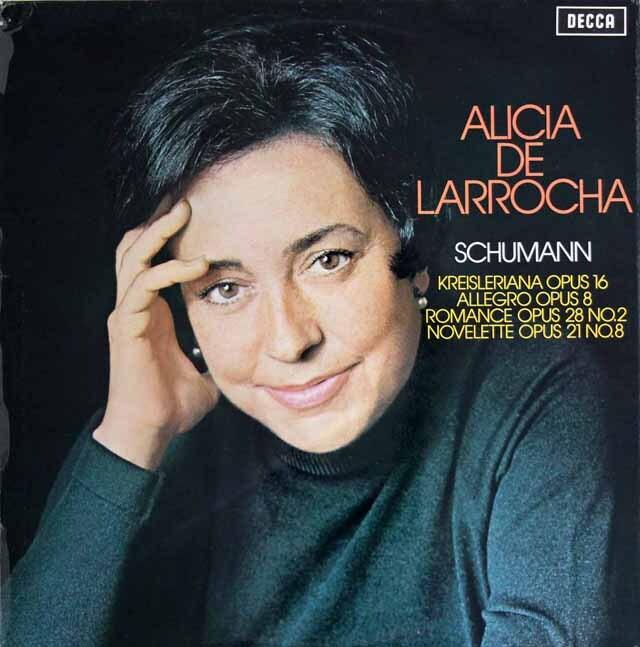 【オリジナル盤】ラローチャのシューマン/「クライスレリアーナ」ほか 英DECCA 3311 LP レコード