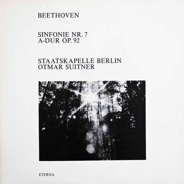 スウィトナーのベートーヴェン/交響曲第7番 独ETERNA 3311 LP レコード