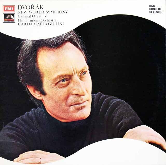 ジュリーニのドヴォルザーク/交響曲第9番「新世界より」ほか 英EMI 3311 LP レコード