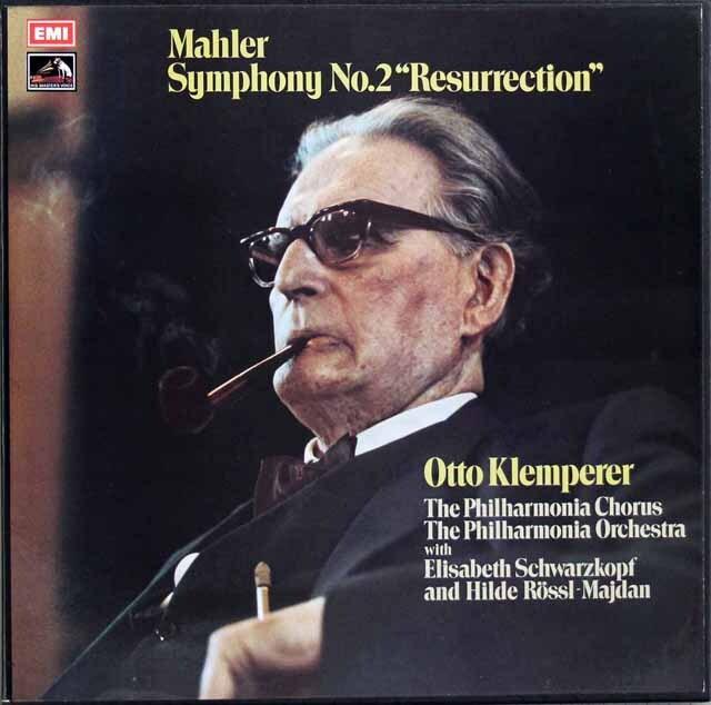 クレンペラーのマーラー/交響曲第2番「復活」 英EMI 3311 LP レコード