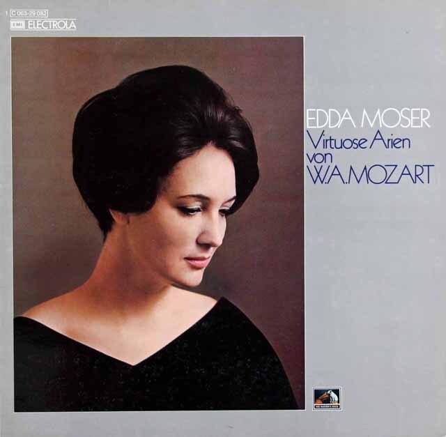 モーザー&サヴァリッシュらのモーツァルト/アリア集 独EMI 3311 LP レコード