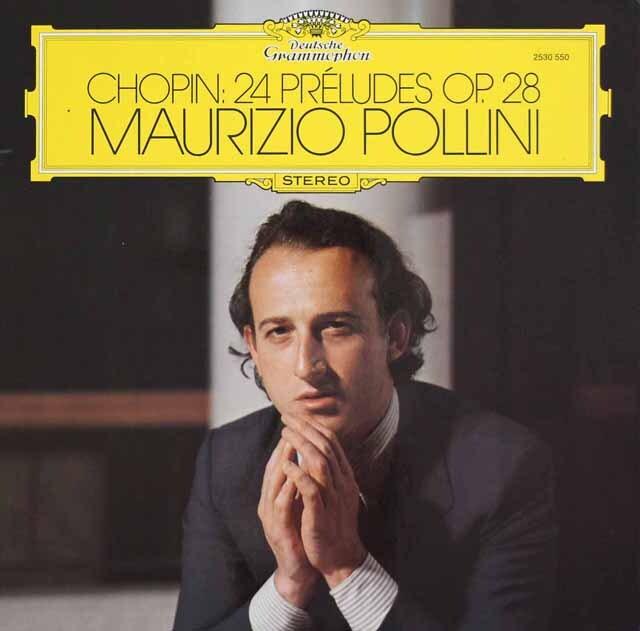 ポリーニのショパン/前奏曲集 独DGG 3311 LP レコード