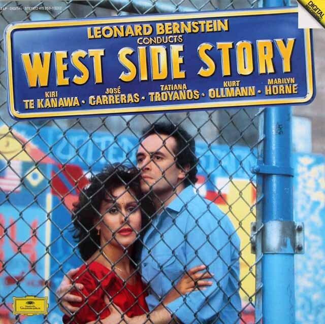 バーンスタインの自作自演/「ウエスト・サイド・ストーリー」 独DGG 3311 LP レコード