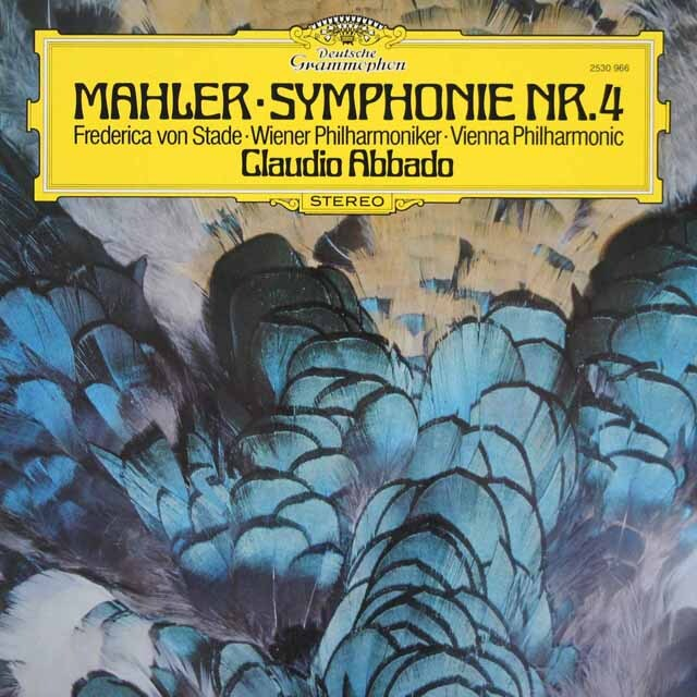 アバドのマーラー/交響曲第4番 独DGG 3312 LP レコード
