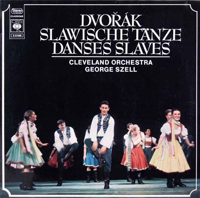 セルのドヴォルザーク/スラヴ舞曲集 独CBS 3312 LP レコード