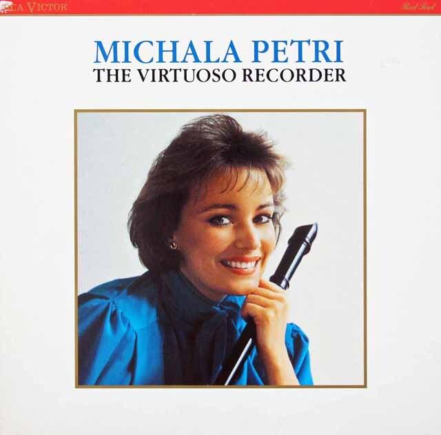 ペトリのテレマン/リコーダーと通奏低音のためのソナタ第3番ほか 独RCA 3312 LP レコード