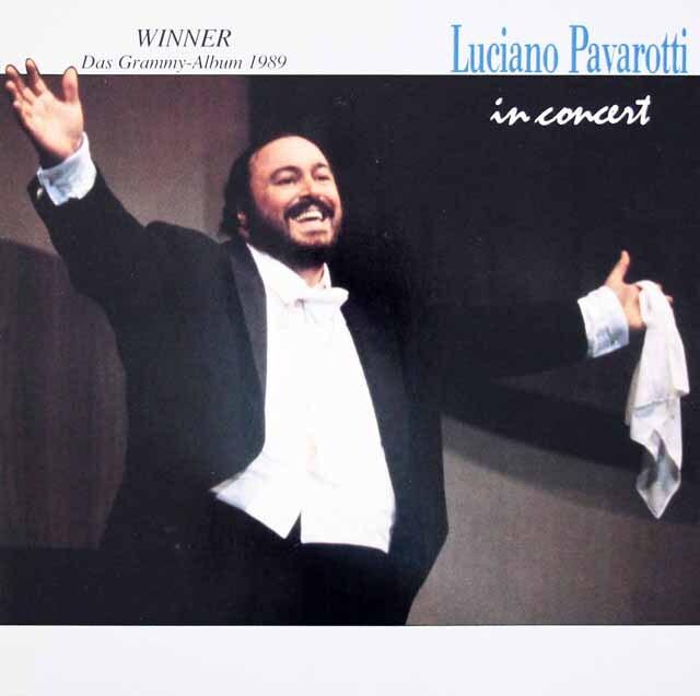 パヴァロッティのモデナ・コンサート(1985年) 独INDEPENDENT 3312 LP レコード