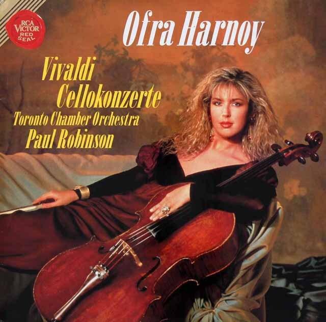 ハーノイのヴィヴァルディ/チェロ協奏曲集 独RCA 3312 LP レコード