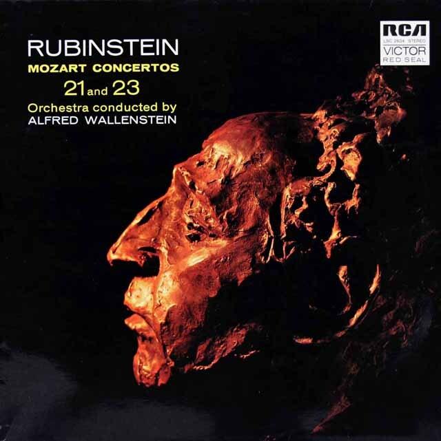 ルービンシュタイン&ウォーレンスタインのモーツァルト/ピアノ協奏曲第21&23番 独RCA 3312 LP レコード