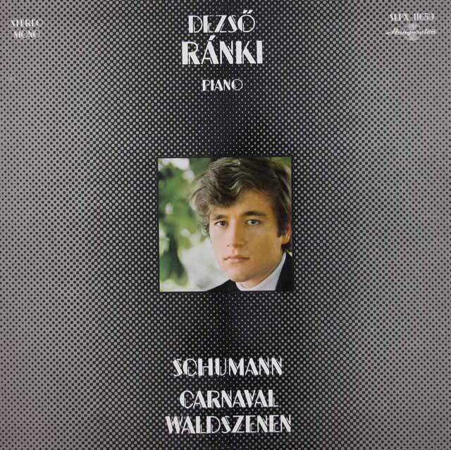 ラーンキのシューマン/「謝肉祭」 & 「森の情景」 ハンガリーHungaroton 3312 LP レコード