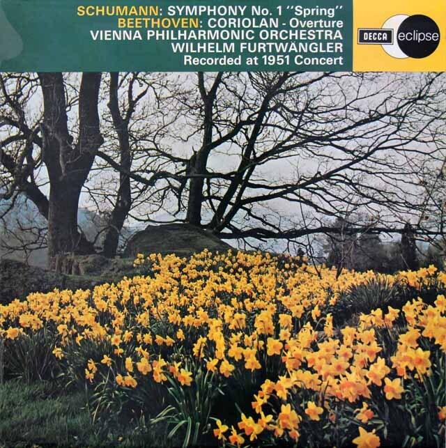 【オリジナル盤】 フルトヴェングラーの「ロマンティック」ほか(1951年10月29日ライヴ集)   英DECCA 3312 LP レコード