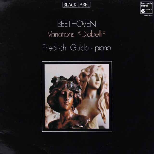 グルダのベートーヴェン/ディアベリ変奏曲 仏HM 3313 LP レコード
