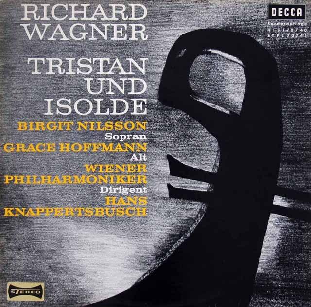 クナッパーツブッシュのワーグナー/「トリスタンとイゾルデ」抜粋  独DECCA 3313 LP レコード