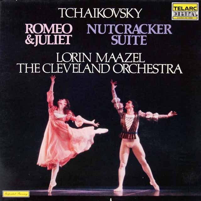 マゼールのチャイコフスキー/「ロメオとジュリエット」&「くるみ割り人形」  独TELARC 3314 LP レコード