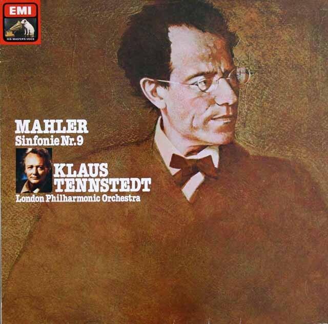 テンシュテットのマーラー/交響曲第9番 独EMI 3314 LP レコード