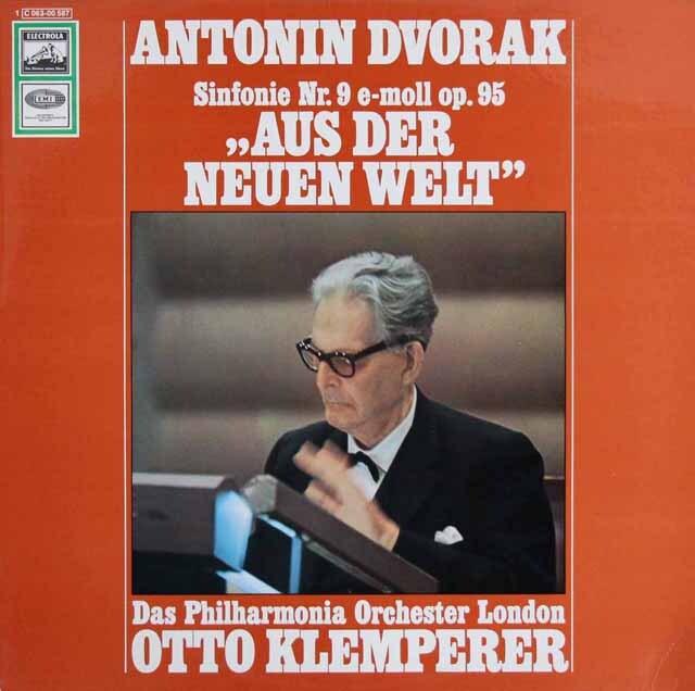 クレンペラーのドヴォルザーク/交響曲第9番「新世界より」 独EMI 3314 LP レコード