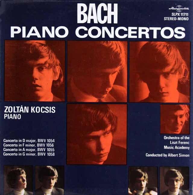 コチシュ&シフのバッハ/ピアノ協奏曲集 ハンガリーHungaroton 3314 LP レコード