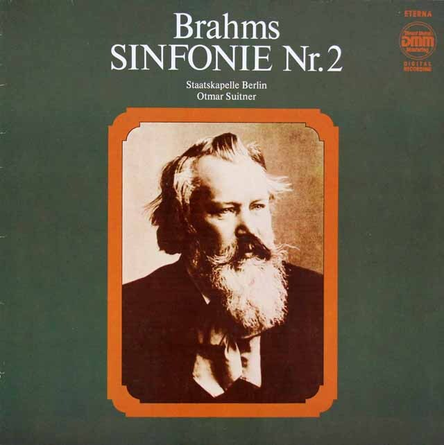スウィトナーのブラームス/交響曲第2番 独ETERNA 3315 LP レコード