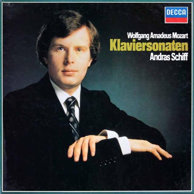 シフのモーツァルト/ピアノソナタ集 独DECCA 3315 LP レコード