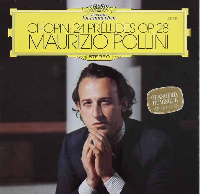 ポリーニのショパン/前奏曲集 独DGG 3315 LP レコード