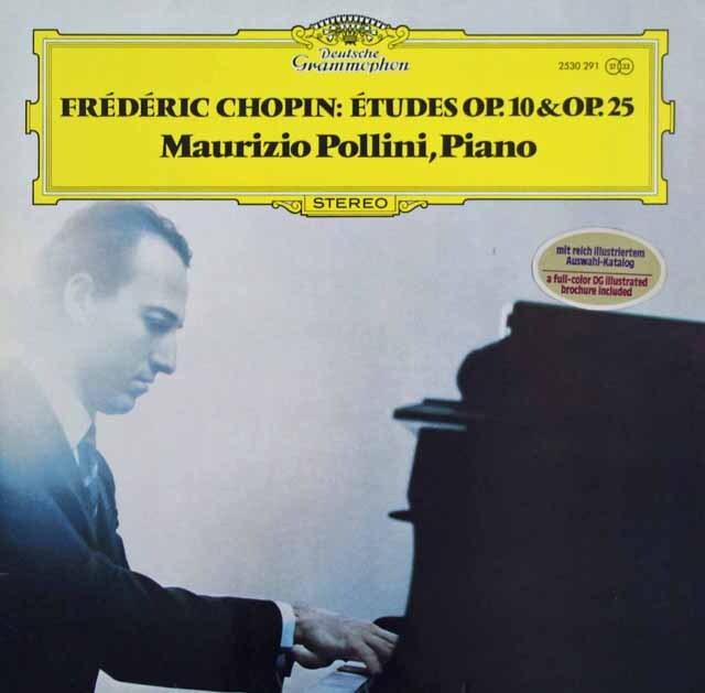 ポリーニのショパン/12の練習曲集 作品10、25 独DGG 3315 LP レコード