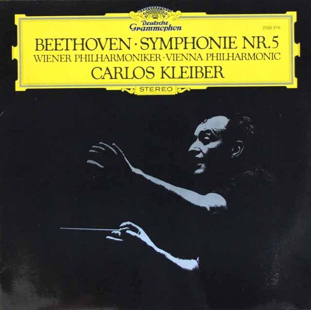 クライバーのベートーヴェン/交響曲第5番「運命」 独DGG 3315 LP レコード