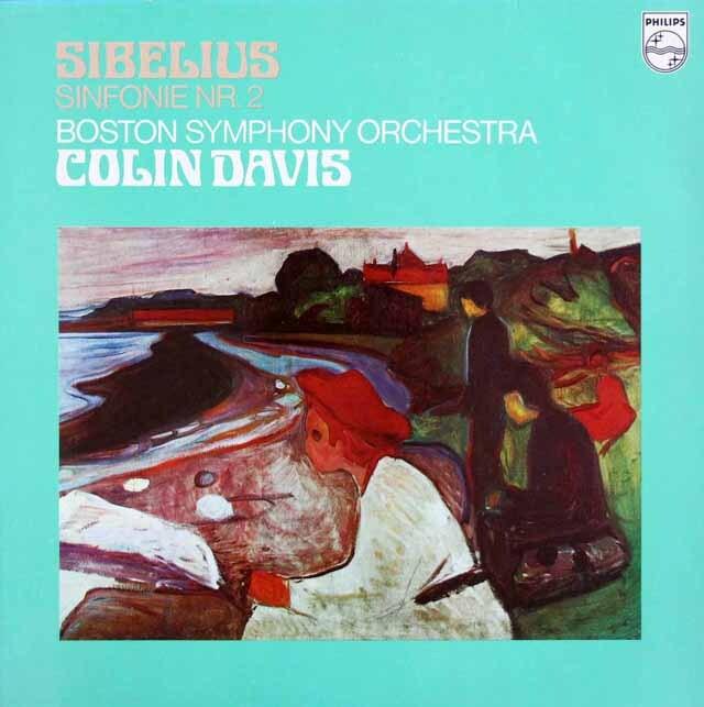 デイヴィスのシベリウス/交響曲第2番 蘭PHILIPS 3315 LP レコード
