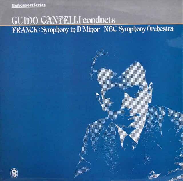 カンテッリのフランク/交響曲ニ長調 英EMI 3316 LP レコード