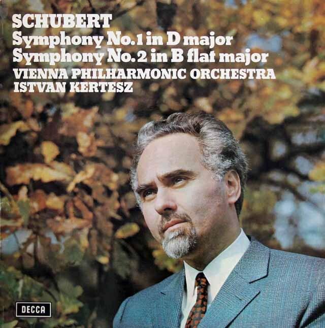 【オリジナル盤】 ケルテスのシューベルト/交響曲第1&2番 英DECCA 3316 LPレコード