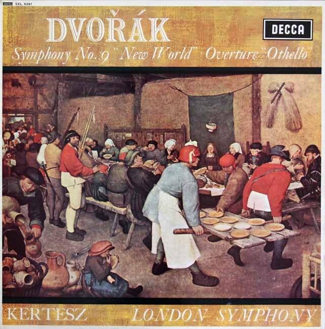 ケルテスのドヴォルザーク/交響曲第9番「新世界より」ほか 英DECCA 3316 LP レコード