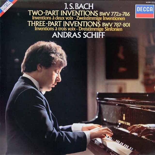 シフのバッハ/インヴェンションとシンフォニア 蘭DECCA 3316 LP レコード