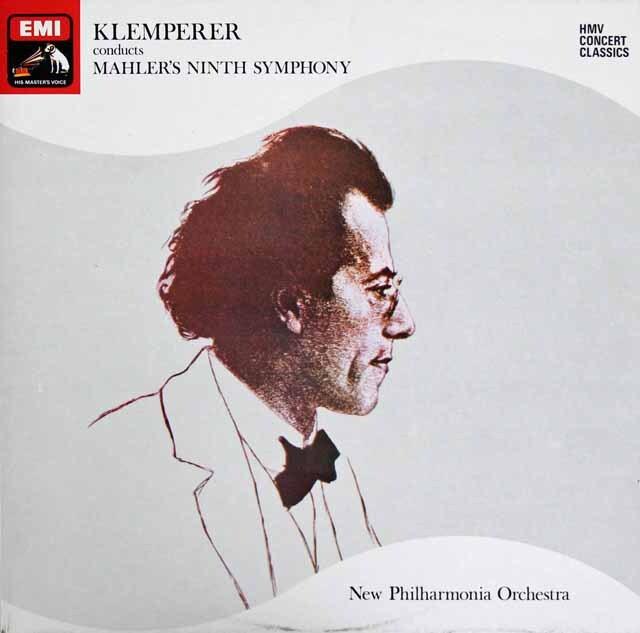 クレンペラーのマーラー/交響曲第9番 英EMI 3316 LP レコード