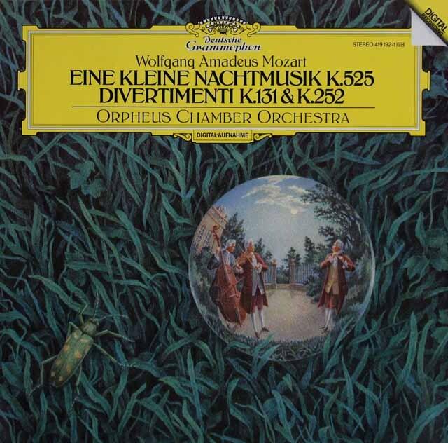 オルフェウス室内管弦楽団のモーツァルト/「アイネ・クライネ・ナハトムジーク」ほか 独DGG 3316 LP レコード