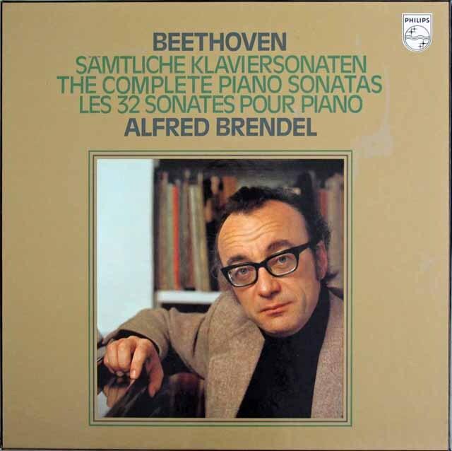 ブレンデルのベートーヴェン/ピアノソナタ全集 蘭PHILIPS 3316 LP レコード