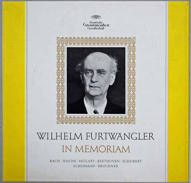 「フルトヴェングラー イン メモリアム」 ブルックナー/交響曲第9番ほか 独DGG 3316 LP レコード
