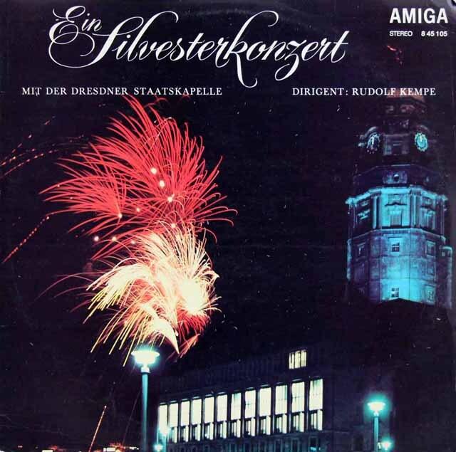 ケンペの「ジルヴェスター・コンサート」 独AMIGA 3317 LP レコード