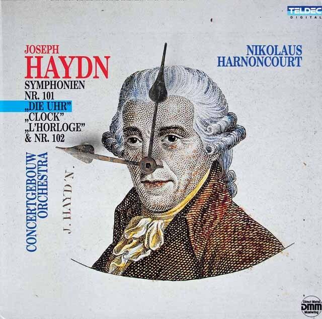 アーノンクールのハイドン/交響曲第101番「時計」ほか 独TELDEC 3317 LP レコード