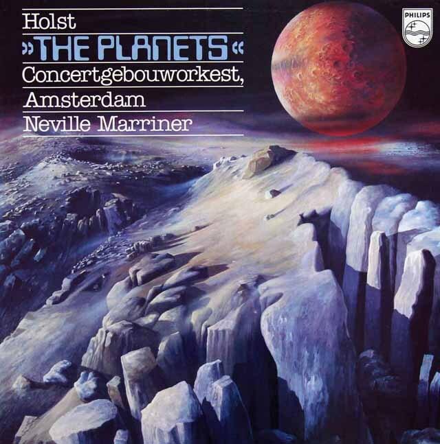 マリナーのホルスト/「惑星」 蘭PHILIPS 3317 LP レコード