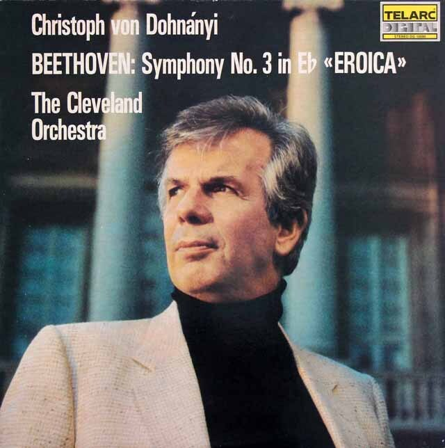 ドホナーニのベートーヴェン/交響曲第3番「英雄」 独TELARC 3317 LP レコード