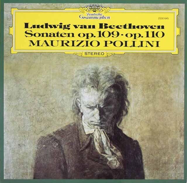 ポリーニのベートーヴェン/ピアノソナタ第30&31番 独DGG 3317 LP レコード