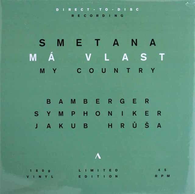 【未開封・ダイレクトカット45回転LP】 フルシャのスメタナ/「わが祖国」 独accentus music 3317 LP レコード