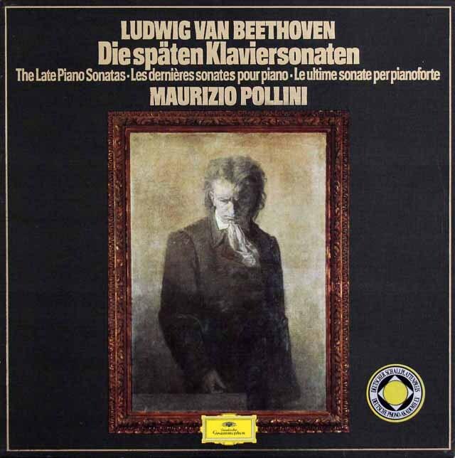 ポリーニのベートーヴェン/後期ピアノソナタ集 独DGG 3317 LP レコード