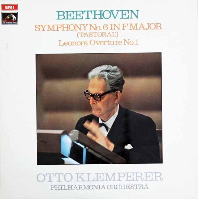 クレンペラーのベートーヴェン/交響曲第6番「田園」ほか 英EMI 3318 LP レコード