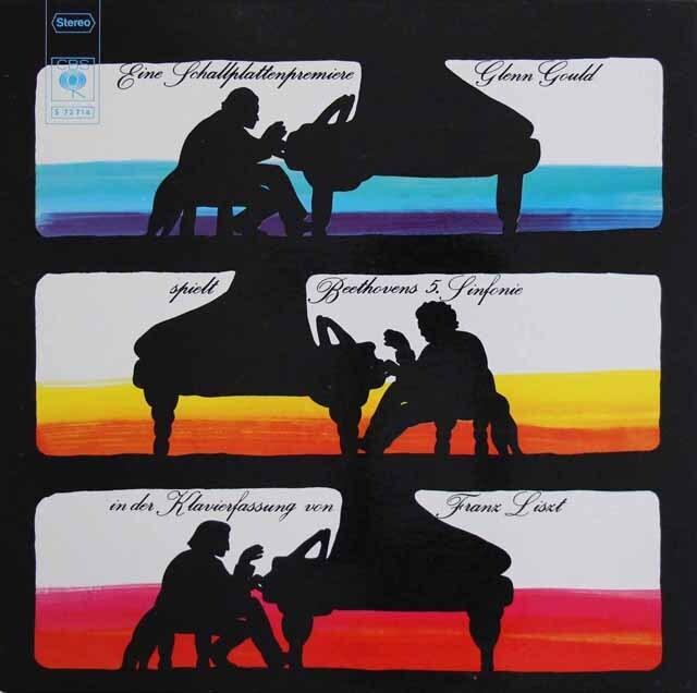 グールドのベートーヴェン/交響曲第5番 独CBS 3319 LP レコード