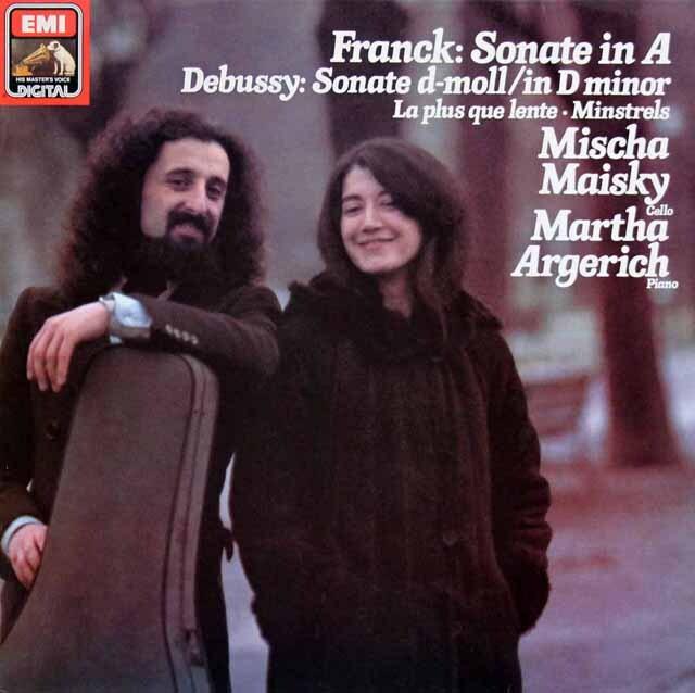 マイスキー&アルゲリッチのフランク/チェロソナタほか 独EMI 3319 LP レコード
